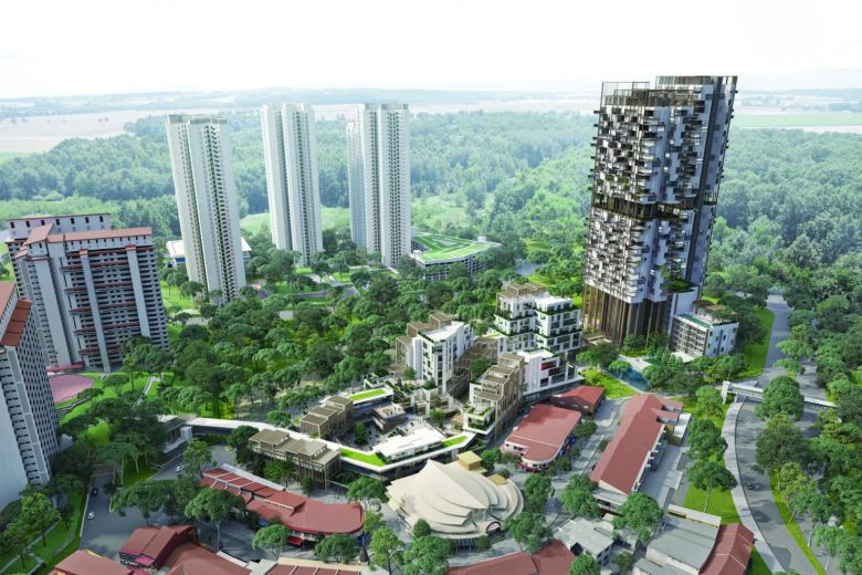 One Hollad Village Overview Singapore