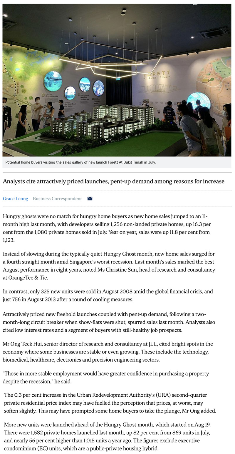 Hyll on Holland - New home sales surge to 11-month high in August 1